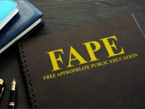 Free Appropriate Public Education (FAPE) in New Jersey